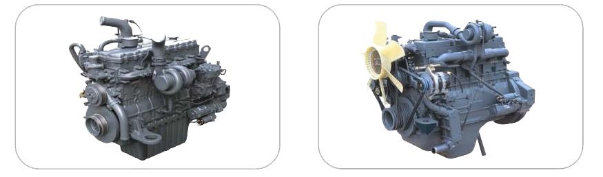 Дизельный Двигатель Doosan DE08TS и Дизельный Двигатель Doosan DL06