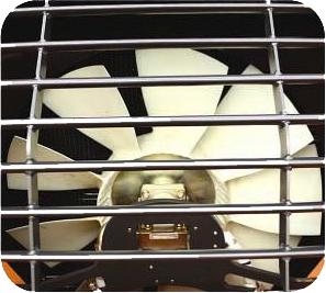 Вентилятор с приводом от гидронасоса